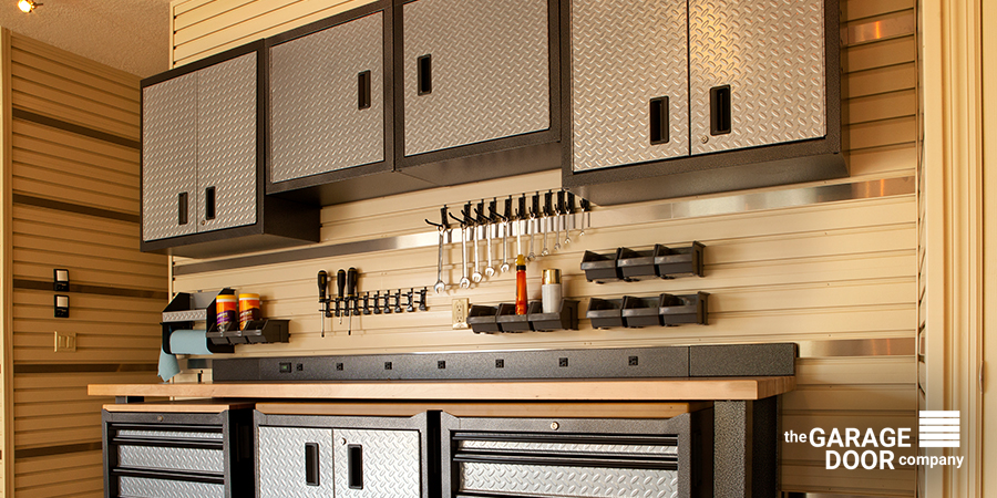 Organized Garage Storage With Tools