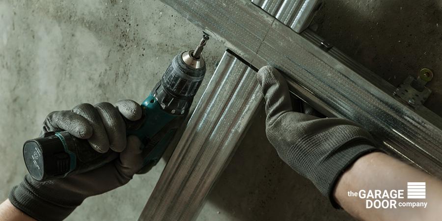 Installation of Metal Grid For Garage Door