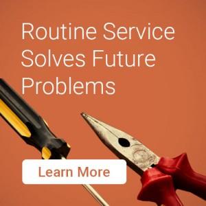 Routine Service Solves Future Problems